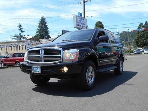 2005 Dodge Durango for sale in Portland, OR