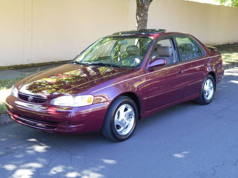 1998 Toyota Corolla LE In Portland OR  Family Auto Network