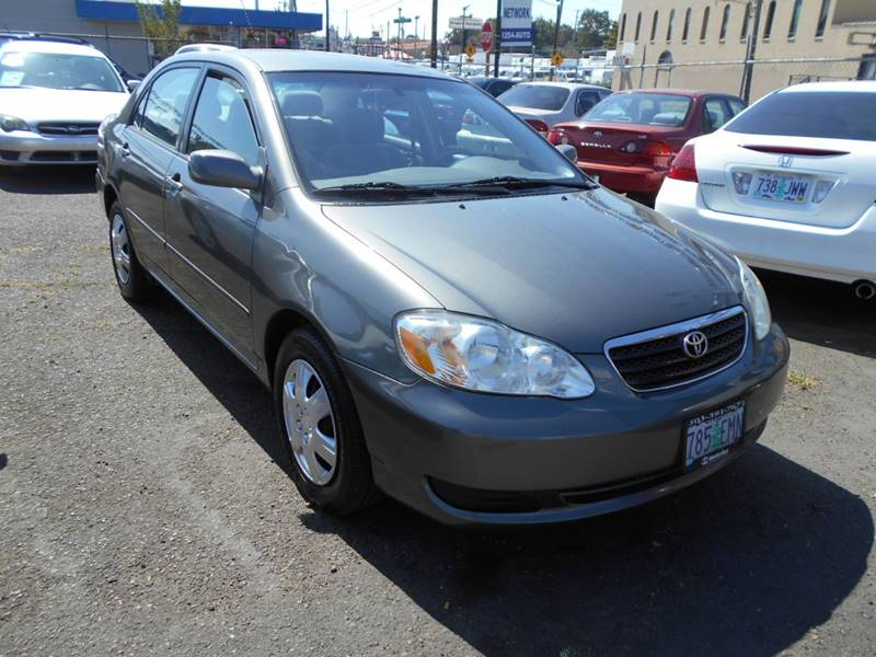 2007 Toyota Corolla For Sale At Family Auto Network In Portland OR