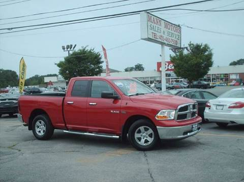 2010 Dodge Ram Pickup 1500 for sale at Bill Caito's Mann Motors in Warwick RI