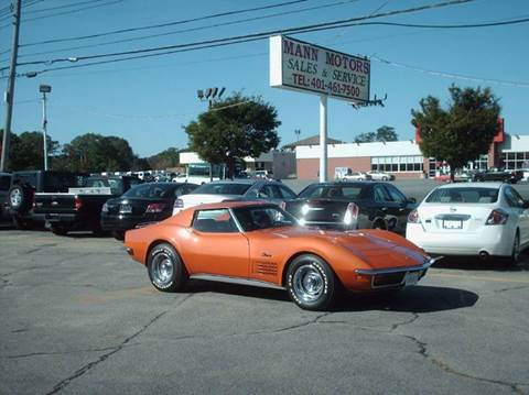 1972 Chevrolet Corvette for sale at Bill Caito's Mann Motors in Warwick RI