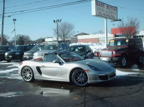 2013 Porsche Boxster for sale at Bill Caito's Mann Motors in Warwick RI
