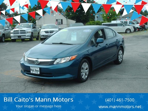2012 Honda Civic for sale in Warwick, RI