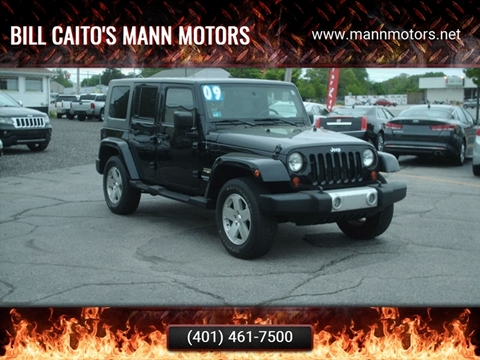 2009 Jeep Wrangler Unlimited for sale in Warwick, RI