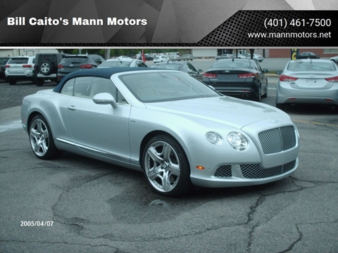 2014 Bentley Continental for sale in Warwick, RI