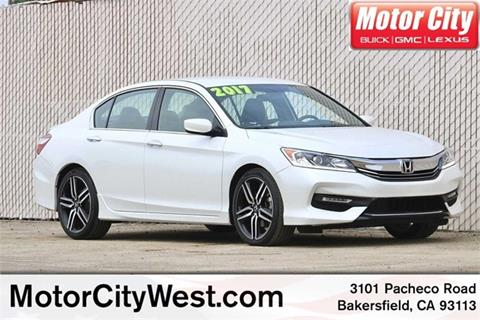 2017 Honda Accord for sale in Bakersfield, CA