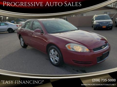 2006 Chevrolet Impala LS for sale at Progressive Auto Sales in Twin Falls ID