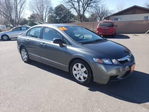 2011 Honda Civic VP for sale at Progressive Auto Sales in Twin Falls ID
