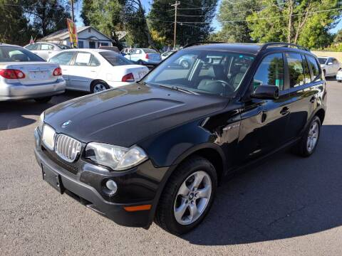 2007 BMW X3 3.0si for sale at Progressive Auto Sales in Twin Falls ID