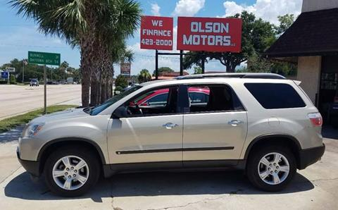 2009 GMC Acadia for sale in Saint Augustine, FL