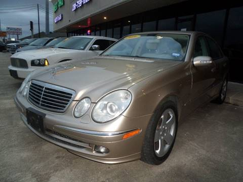 2006 mercedes benz e class for sale in houston tx for Mercedes benz for sale houston
