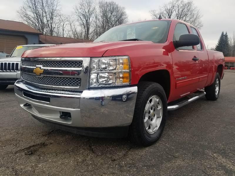 2013 Chevrolet Silverado 1500 for sale at Rombaugh's Auto Sales in Battle Creek MI