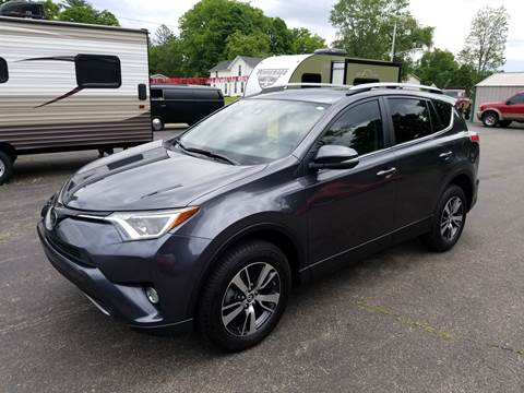 2017 Toyota RAV4 for sale at Rombaugh's Auto Sales in Battle Creek MI
