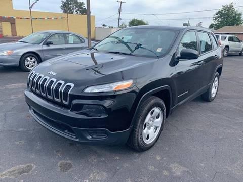 2016 Jeep Cherokee for sale in Glendale, AZ