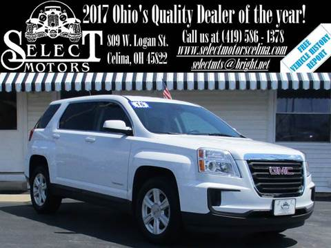 2016 GMC Terrain for sale in Celina, OH