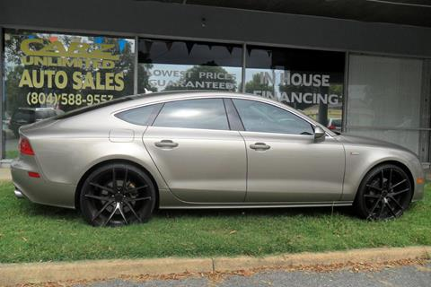 2013 Audi A7 for sale in Richmond, VA
