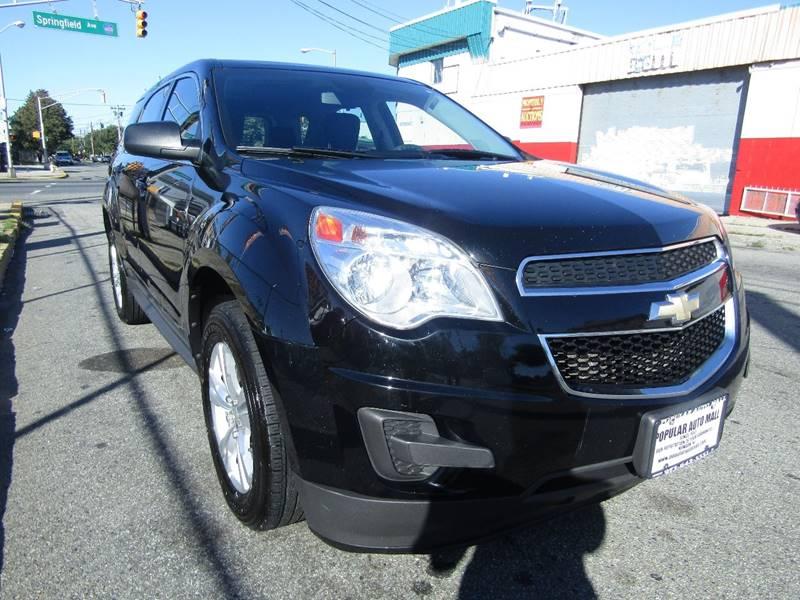 2012 Chevrolet Equinox Awd Ls 4dr Suv In Newark Nj Popular Auto