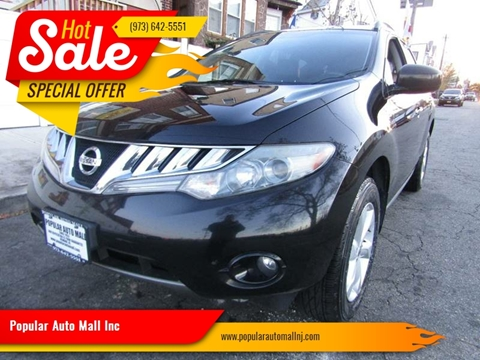 2010 Nissan Murano for sale at Popular Auto Mall Inc in Newark NJ