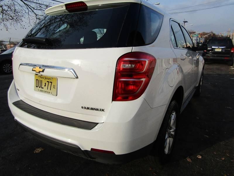 2016 Chevrolet Equinox Awd Ls 4dr Suv In Newark Nj Popular Auto