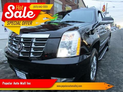 2007 Cadillac Escalade ESV for sale at Popular Auto Mall Inc in Newark NJ