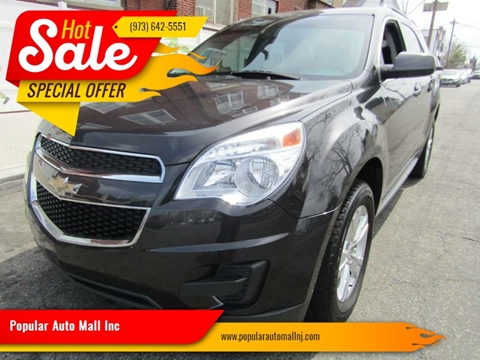 2015 Chevrolet Equinox for sale at Popular Auto Mall Inc in Newark NJ