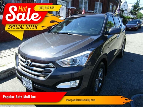 2015 Hyundai Santa Fe Sport for sale at Popular Auto Mall Inc in Newark NJ