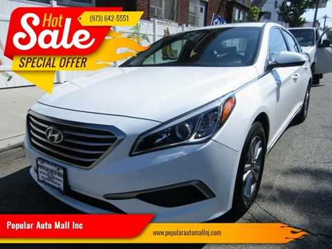 2017 Hyundai Sonata for sale at Popular Auto Mall Inc in Newark NJ
