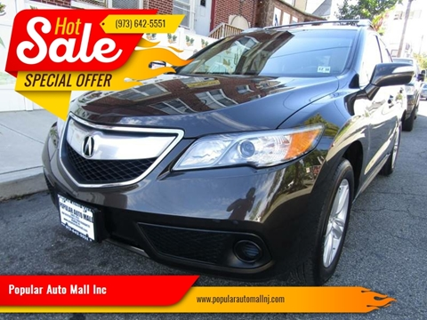 2014 Acura RDX for sale at Popular Auto Mall Inc in Newark NJ