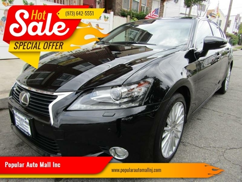 2013 Lexus GS 350 for sale at Popular Auto Mall Inc in Newark NJ