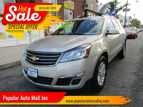 2014 Chevrolet Traverse for sale at Popular Auto Mall Inc in Newark NJ