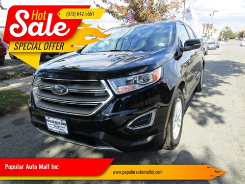 2016 Ford Edge for sale at Popular Auto Mall Inc in Newark NJ