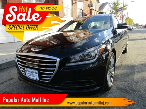 2015 Hyundai Genesis for sale at Popular Auto Mall Inc in Newark NJ