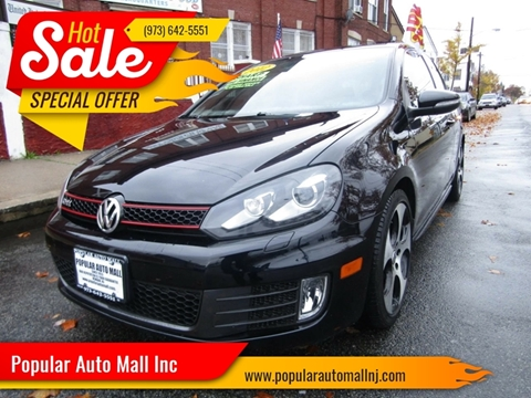 2012 Volkswagen GTI for sale at Popular Auto Mall Inc in Newark NJ