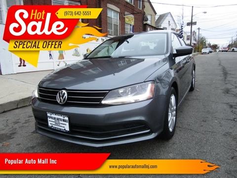 2017 Volkswagen Jetta for sale at Popular Auto Mall Inc in Newark NJ