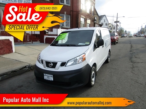 2015 Nissan NV200 for sale at Popular Auto Mall Inc in Newark NJ