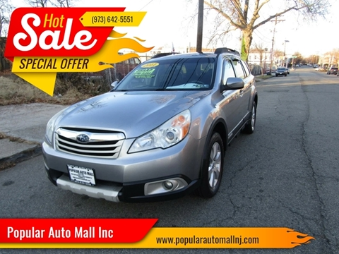 2011 Subaru Outback for sale at Popular Auto Mall Inc in Newark NJ