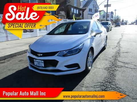 2017 Chevrolet Cruze for sale at Popular Auto Mall Inc in Newark NJ