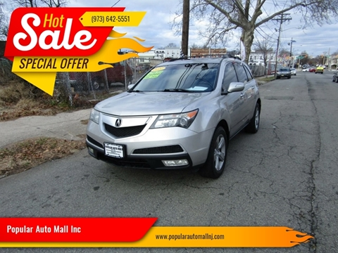 2010 Acura MDX for sale at Popular Auto Mall Inc in Newark NJ
