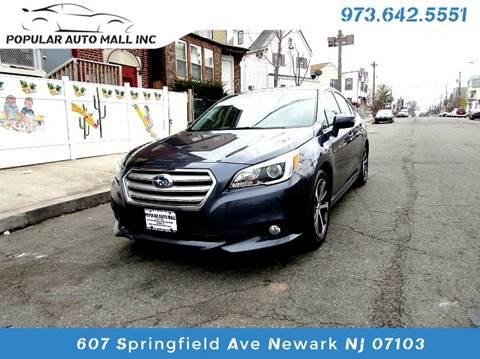 2015 Subaru Legacy for sale at Popular Auto Mall Inc in Newark NJ