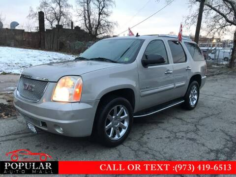 2008 GMC Yukon for sale at Popular Auto Mall Inc in Newark NJ