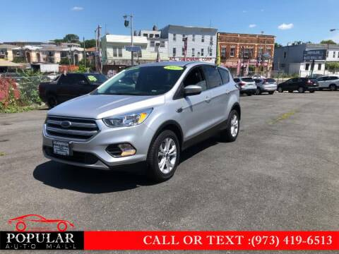 2017 Ford Escape for sale at Popular Auto Mall Inc in Newark NJ