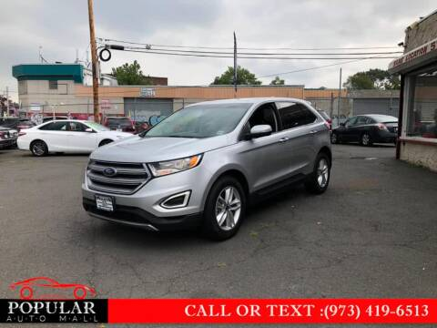 2017 Ford Edge for sale at Popular Auto Mall Inc in Newark NJ