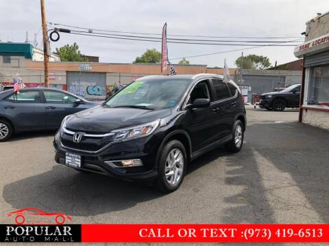 2016 Honda CR-V for sale at Popular Auto Mall Inc in Newark NJ