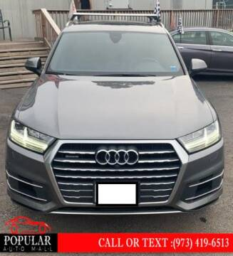 2017 Audi Q7 for sale at Popular Auto Mall Inc in Newark NJ