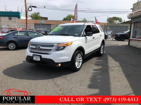 2015 Ford Explorer for sale at Popular Auto Mall Inc in Newark NJ