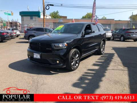 2017 Dodge Durango for sale at Popular Auto Mall Inc in Newark NJ