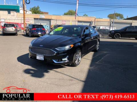2019 Ford Fusion for sale at Popular Auto Mall Inc in Newark NJ