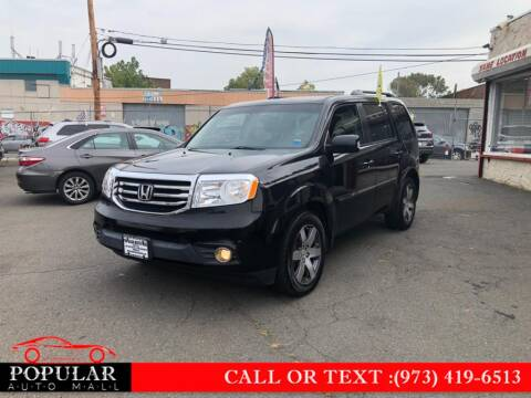 2013 Honda Pilot for sale at Popular Auto Mall Inc in Newark NJ
