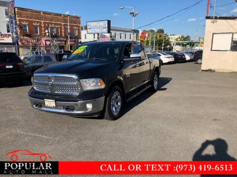 2016 RAM Ram Pickup 1500 for sale at Popular Auto Mall Inc in Newark NJ
