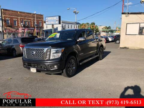 2017 Nissan Titan for sale at Popular Auto Mall Inc in Newark NJ